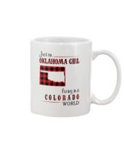 OKLAHOMA GIRL LIVING IN COLORADO WORLD Mug thumbnail