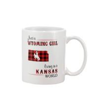 WYOMING GIRL LIVING IN KANSAS WORLD Mug thumbnail