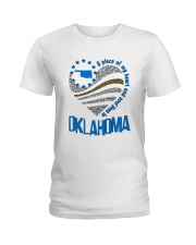 A PIECE OF MY HEART AND SOUL LIVES IN  OKLAHOMA Ladies T-Shirt front