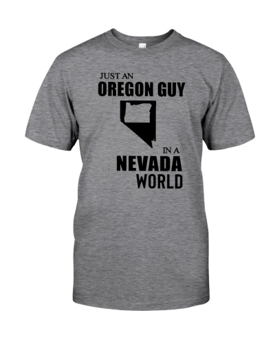 JUST AN OREGON GUY IN A NEVADA WORLD