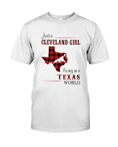 CLEVELAND GIRL LIVING IN TEXAS WORLD