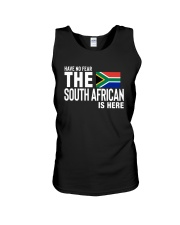 HAVE NO FEAR THE SOUTH AFRICAN IS HERE Unisex Tank thumbnail