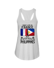 LIVE IN FRANCE BEGAN IN PHILIPPINES Ladies Flowy Tank thumbnail