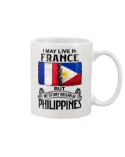 LIVE IN FRANCE BEGAN IN PHILIPPINES Mug thumbnail
