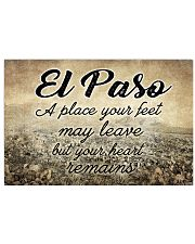 EL PASO A PLACE YOUR HEART REMAINS 24x16 Poster front