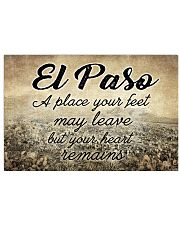 EL PASO A PLACE YOUR HEART REMAINS Horizontal Poster tile