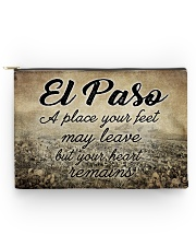EL PASO A PLACE YOUR HEART REMAINS Accessory Pouch - Large thumbnail