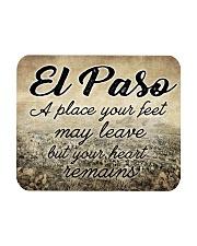 EL PASO A PLACE YOUR HEART REMAINS Mousepad thumbnail