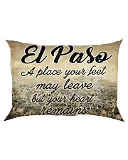 EL PASO A PLACE YOUR HEART REMAINS Rectangular Pillowcase thumbnail
