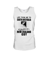 NEW ZEALAND GUY LIFE TOOK TO SOUTH AUSTRALIA Unisex Tank thumbnail