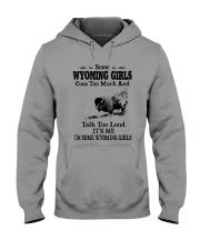 SOME WYOMING GIRLS TALK TOO LOUD Hooded Sweatshirt thumbnail