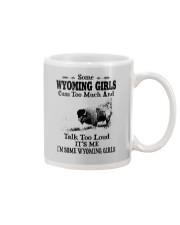 SOME WYOMING GIRLS TALK TOO LOUD Mug thumbnail