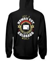 HAWAII GUY IN COLORADO WORLD Hooded Sweatshirt thumbnail