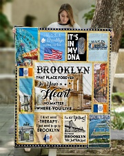 """BROOKLYN IT'S IN MY DNA Quilt 50""""x60"""" - Throw aos-quilt-50x60-lifestyle-front-01"""
