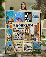 """BROOKLYN IT'S IN MY DNA Quilt 50""""x60"""" - Throw aos-quilt-50x60-lifestyle-front-03"""