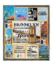 """BROOKLYN IT'S IN MY DNA Quilt 50""""x60"""" - Throw front"""