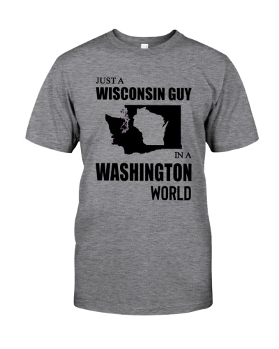 JUST A WISCONSIN GUY IN A WASHINGTON WORLD
