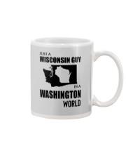 JUST A WISCONSIN GUY IN A WASHINGTON WORLD Mug thumbnail