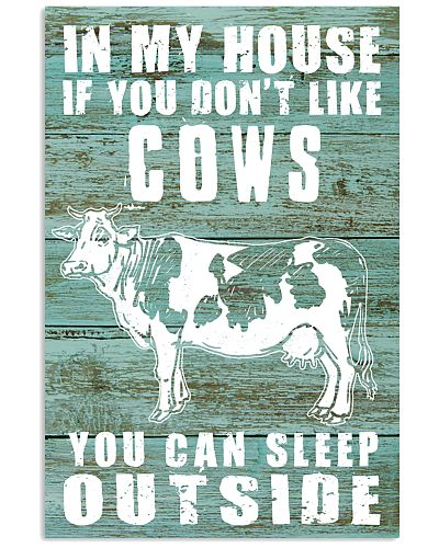 IF YOU DON'T LIKE COWS YOU CAN SLEEP OUTSIDE