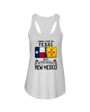 LIVE IN TEXAS BUT MY STORY BEGAN IN NEW MEXICO Ladies Flowy Tank thumbnail