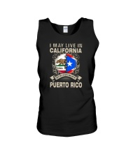 LIVE IN CALIFORNIA MY STORY IN PUERTO RICO Unisex Tank thumbnail