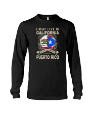 LIVE IN CALIFORNIA MY STORY IN PUERTO RICO Long Sleeve Tee thumbnail