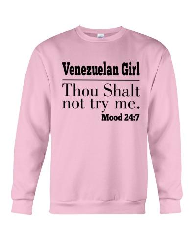VENEZUELAN GIRL THOU SHALT NOT TRY ME