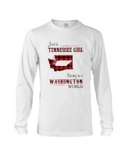 TENNESSEE GIRL LIVING IN WASHINGTON WORLD Long Sleeve Tee thumbnail