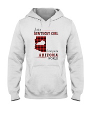 KENTUCKY GIRL LIVING IN ARIZONA WORLD Hooded Sweatshirt thumbnail