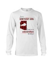 KENTUCKY GIRL LIVING IN ARIZONA WORLD Long Sleeve Tee thumbnail