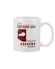 KENTUCKY GIRL LIVING IN ARIZONA WORLD Mug thumbnail