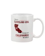 CLEVELAND GIRL LIVING IN CALIFORNIA WORLD Mug thumbnail