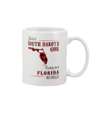 SOUTH DAKOTA GIRL LIVING IN FLORIDA WORLD Mug thumbnail