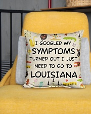 "TURNED OUT I JUST NEED TO GO TO LOUISIANA Indoor Pillow - 16"" x 16"" aos-decorative-pillow-lifestyle-front-01"