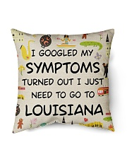 "TURNED OUT I JUST NEED TO GO TO LOUISIANA Indoor Pillow - 16"" x 16"" back"