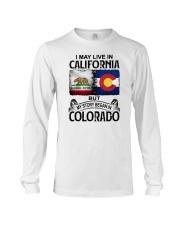 LIVE IN CALIFORNIA BEGAN IN COLORADO Long Sleeve Tee thumbnail