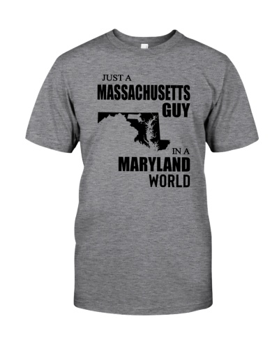 JUST A MASSACHUSETTS GUY IN A MARYLAND WORLD