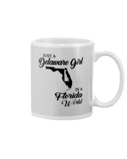 JUST A DELAWARE GIRL IN A FLORIDA WORLD Mug thumbnail
