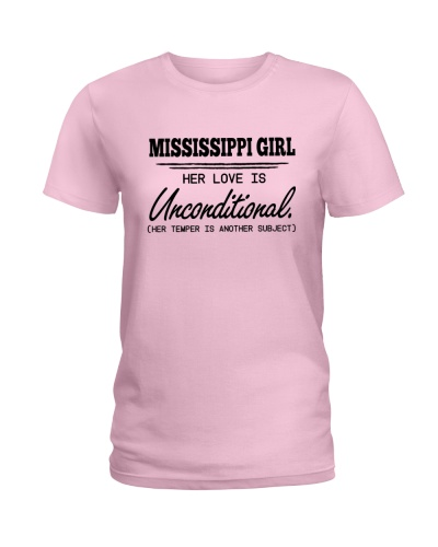 MISSISSIPPI GIRL HER LOVE IS UNCONDITIONAL