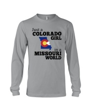 JUST A COLORADO GIRL IN A MISSOURI WORLD Long Sleeve Tee thumbnail