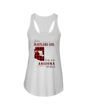 MARYLAND GIRL LIVING IN ARIZONA WORLD Ladies Flowy Tank thumbnail