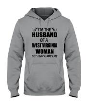 I'M THE HUSBAND OF A WEST VIRGINIA WOMAN Hooded Sweatshirt thumbnail