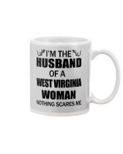 I'M THE HUSBAND OF A WEST VIRGINIA WOMAN Mug thumbnail