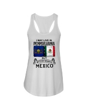 LIVE IN PENNSYLVANIA BEGAN IN MEXICO Ladies Flowy Tank thumbnail