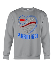 A PIECE OF MY HEART AND SOUL LIVES IN PUERTO RICO Crewneck Sweatshirt thumbnail