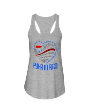 A PIECE OF MY HEART AND SOUL LIVES IN PUERTO RICO Ladies Flowy Tank thumbnail