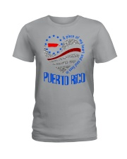 A PIECE OF MY HEART AND SOUL LIVES IN PUERTO RICO Ladies T-Shirt tile