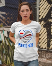 A PIECE OF MY HEART AND SOUL LIVES IN PUERTO RICO Ladies T-Shirt apparel-ladies-t-shirt-lifestyle-03
