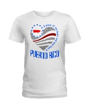 A PIECE OF MY HEART AND SOUL LIVES IN PUERTO RICO Ladies T-Shirt front