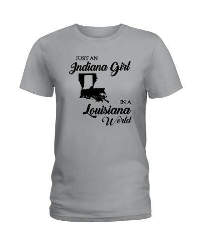 JUST AN INDIANA GIRL IN A LOUISIANA WORLD